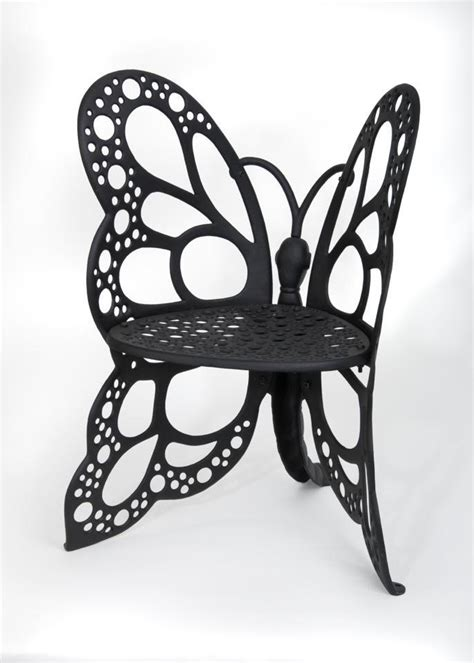 Amazon Com Flower House Fhbc205 Butterfly Chair Black Butterfly Patio Chair