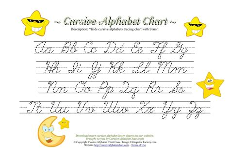 printable cursive letters free alphabet charts for kids search results new calendar