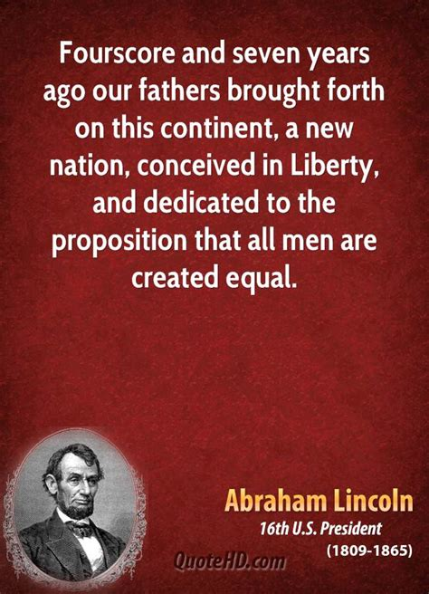 abraham lincoln equality equality quotes by abraham lincoln quotesgram