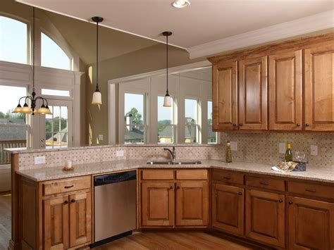 oak kitchen design ideas kitchen color schemes with oak cabinets best home