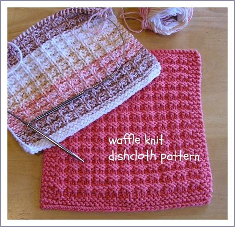 waffle knit dishcloth pattern en francais been there done that waffle knit dishcloth pattern