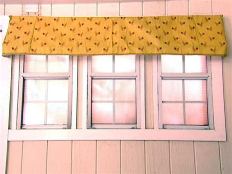 Awning Window Treatments by Interior Window Awning Hgtv