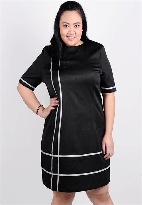 Tshirt Banks Roffico Cloth korean style sleeve office dress plus size clothes