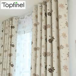 Luxury Blackout Curtains Aliexpress Buy Top Finel 2016 Luxury Modern Shade Petal Blackout Curtains For Living Room