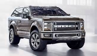 Ford Bronco News New Ford Bronco Or Fiction Horsepower