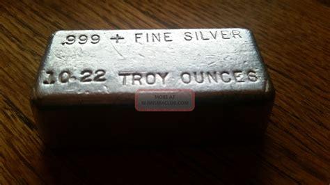 10 Oz Silver Bar Value Canada - 10 oz silver hallmark precious metals poured silver bar