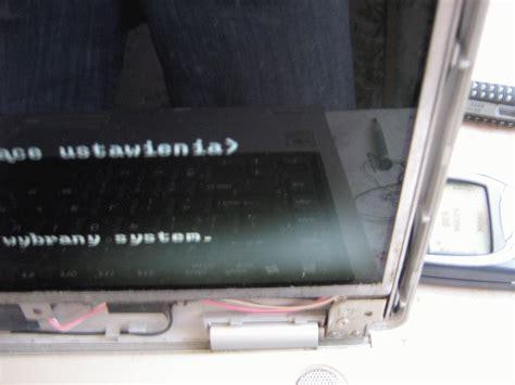 problem z laptopem toshiba satellite m40 110pl matryca