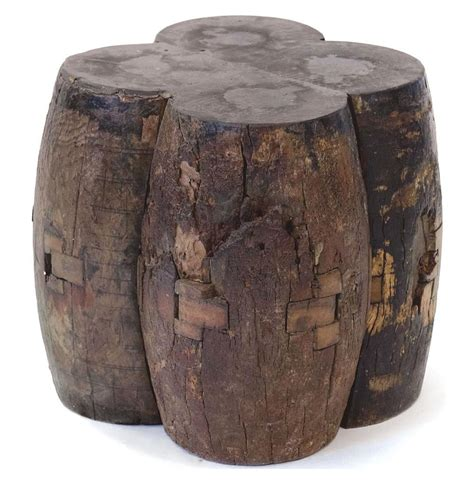 Chunky Stool by Axel Reclaimed Wood Solid Chunky End Table Stool Kathy