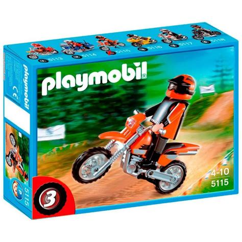 Lego Motorrad Ktm by Playmobil Motocross Motorbike 5115 Table Mountain Toys