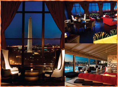 roof top bars in dc w hotel dc rooftop bar pov