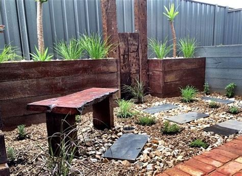 Raised Garden Beds Australia - australian raised beds and railway sleepers