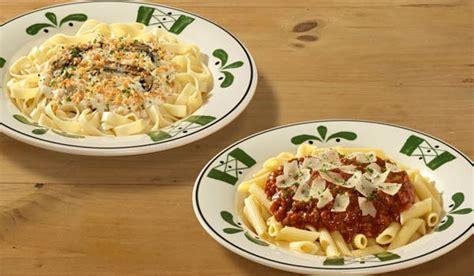olive garden never ending pasta bowl is back fast food