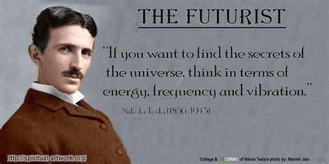 Tesla Person Nikola Tesla Spiritual Artwork