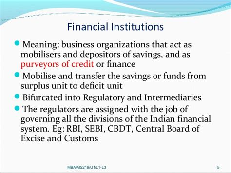Sebi Internship Mba by Financial Market
