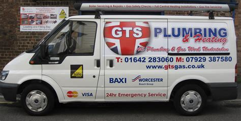Gts Plumbing by Gts Plumbing Gt Signs And Print Limited
