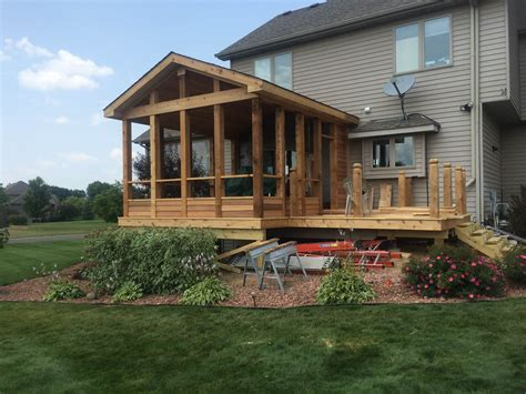 screen rooms for decks lake il home remodeling contractor pool deck builder basement finishing brad f