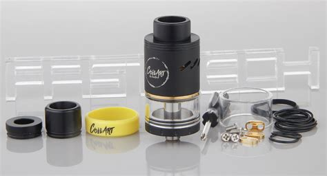 Coilart Azeroth Rdta Authentic By Coilart 24 38 authentic coilart azeroth rdta rebuildable tank atomizer 4ml 304 stainless