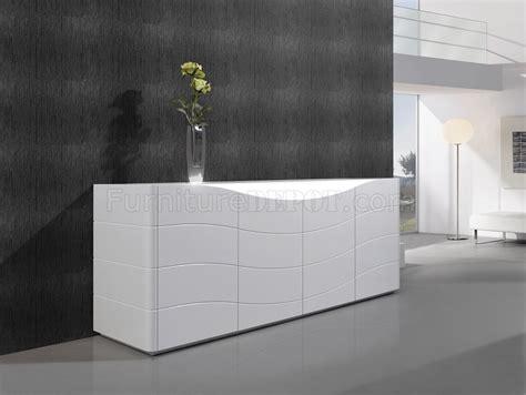 White Gloss Buffet Zao Buffet In White Gloss By J M Furniture