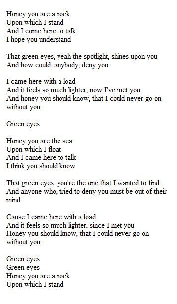 little eye endgame lyrics green eyes coldplay song lyrics pinterest green