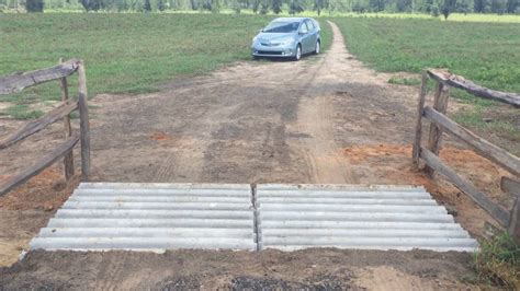 how to your to guard how to build your own cattle guard for less