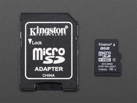 with sd card sd microsd memory card 8 gb sdhc id 1294 9 95