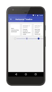 Play Store Like Recyclerview Timeline View Sle Android Apps On Play