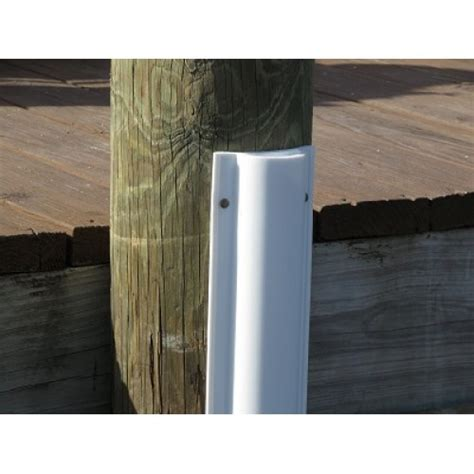 boat dock piling bumpers polyethylene piling bumpers two 48 quot pcs 96 quot total