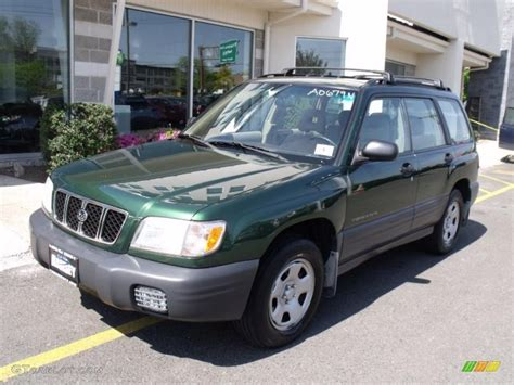 2002 Savanna Green Metallic Subaru Forester 2 5 L