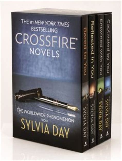 sylvia day crossfire series 4 volume boxed set by sylvia