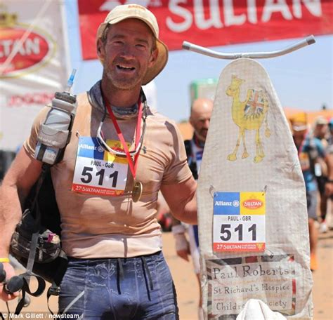 ultimate iron man challenge runner takes gruelling