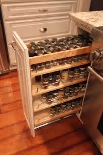 Kitchen Cabinet Pull Out Spice Rack Pull Out Spice Racks Kitchen Cabinets Home Decorating