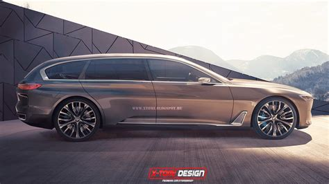 future bmw concept bmw vision future concept rendered as estate gtspirit