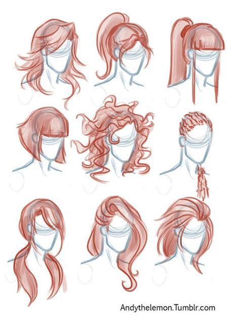 types of pencil hair styles 25 best ideas about drawing techniques on pinterest