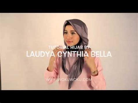 tutorial hijab ala cintia claudia bella laudya cynthia bella pakai hijab semakin cantik doovi