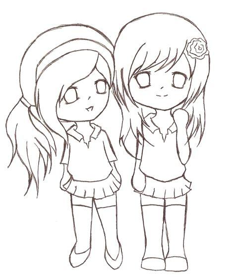 dibujo de amigas pintado por meyita en dibujos net el d 237 a imagenes de dibujos para amigas queridas dibujos chidos