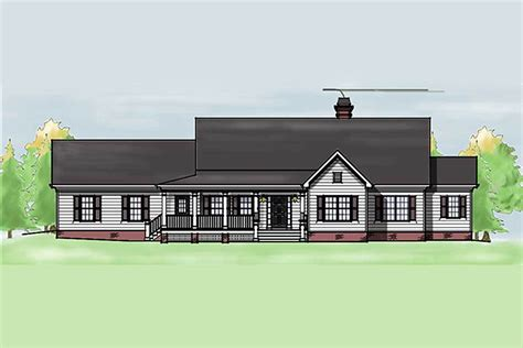 country home plans one one level country home plan 92331mx architectural