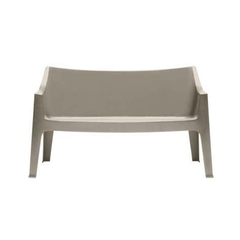 divanetti 2 posti divani in plastica con protezione ai raggi uv sole