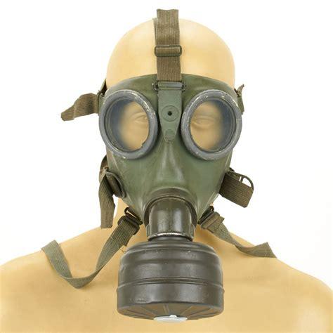 Goon Excellent M 38 M38 original german wwii m 38 gas mask filter excellent
