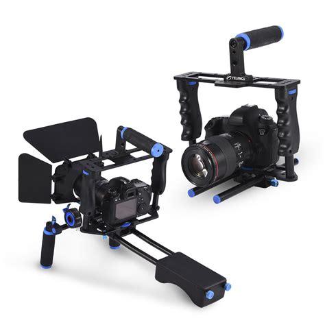 Kit Shoulder Rig Mount Stabilizer camcorder rig kit shoulder cage mount stabilizer with