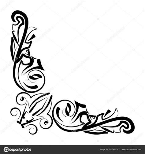 decorative drawing borders decorative border design stock vector 169 angbay 142795273