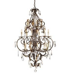 chandelier large buy the heirloom chandelier large by currey company