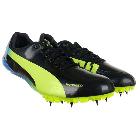 athletic spike shoes evospeed electric spike usain bolt running boots
