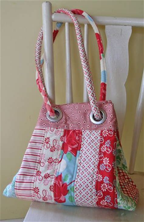 tote bag pattern with grommets grids grommets ij805 sewing pattern from
