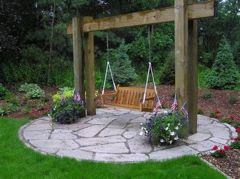 is swinging a good idea great garden swing ideas to ensure a gregarious time for