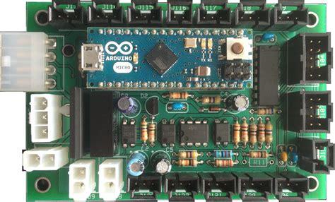 simple circuit board edge