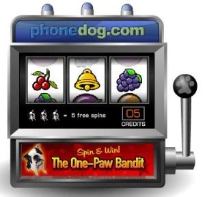 phonedog one paw bandit instant win game - Phonedog Instant Win