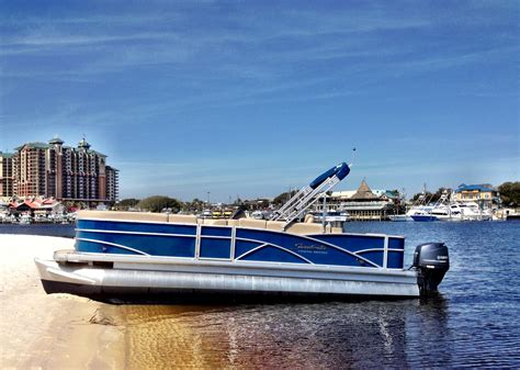 boat rental vacations destin pontoon rentals