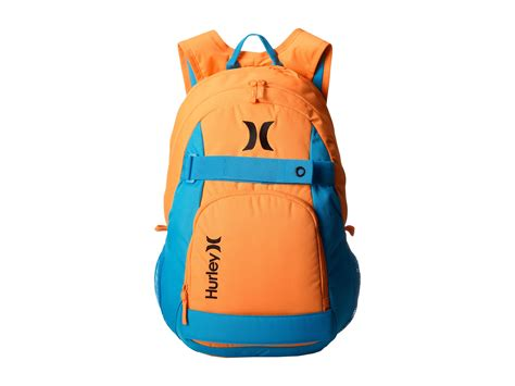 hurley honor roll backpack in blue for lyst