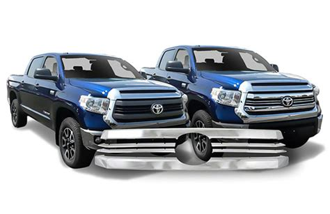 Toyota Agya 2016 Grill Depan Model Bentley Front Grille 2014 2017 Toyota Tundra Sr Chrome Grille Insert Overlay Trim