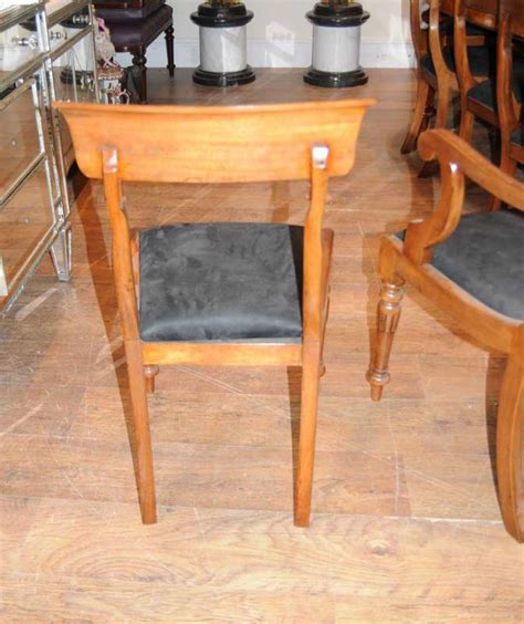 Edwardian Dining Table And Chairs Walnut Table Chair Dining Set Suite